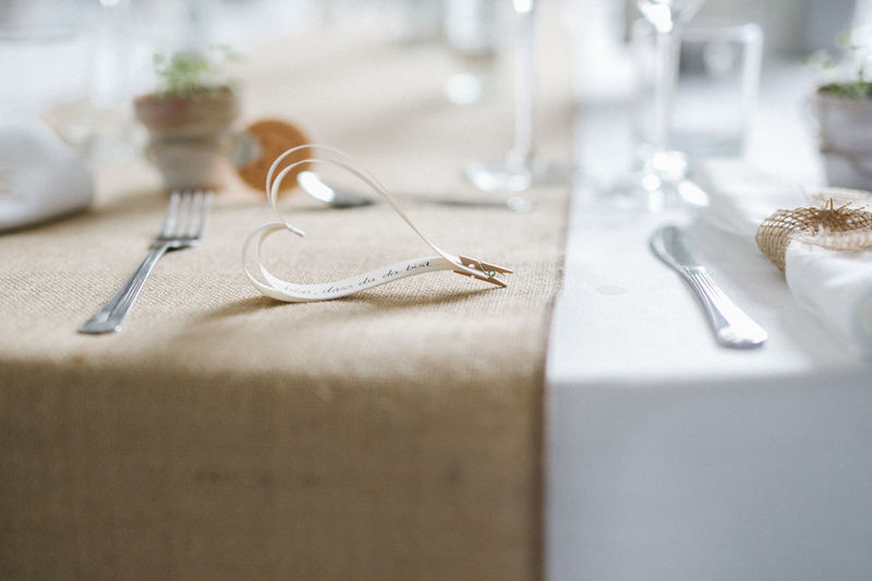 Arrangement Cuttlery Dining Formal Heart Love No People Selective Focus Set Up Table