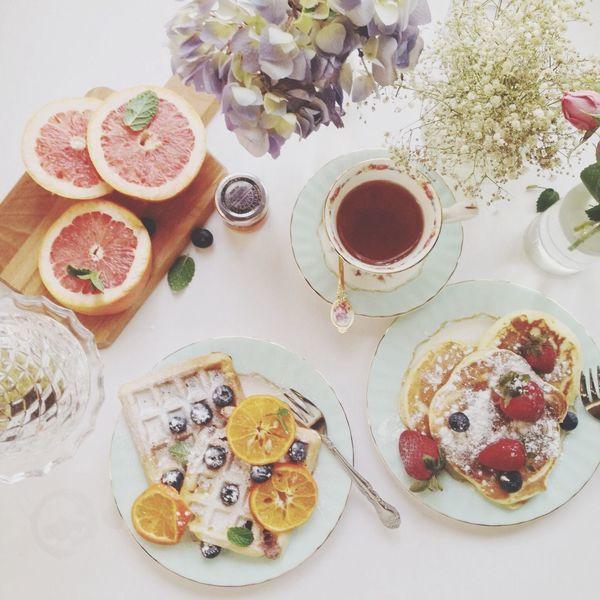 Good Morning Having Breakfast Weekend Breakfast ♥