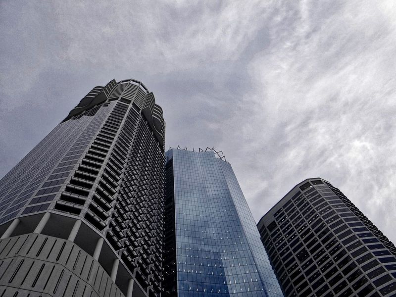Building Exterior Architecture Low Angle View Skyscraper City Life Cloud - Sky Australia Streetphotography Towers Office Building Photography Dslrcamera Sony 😚