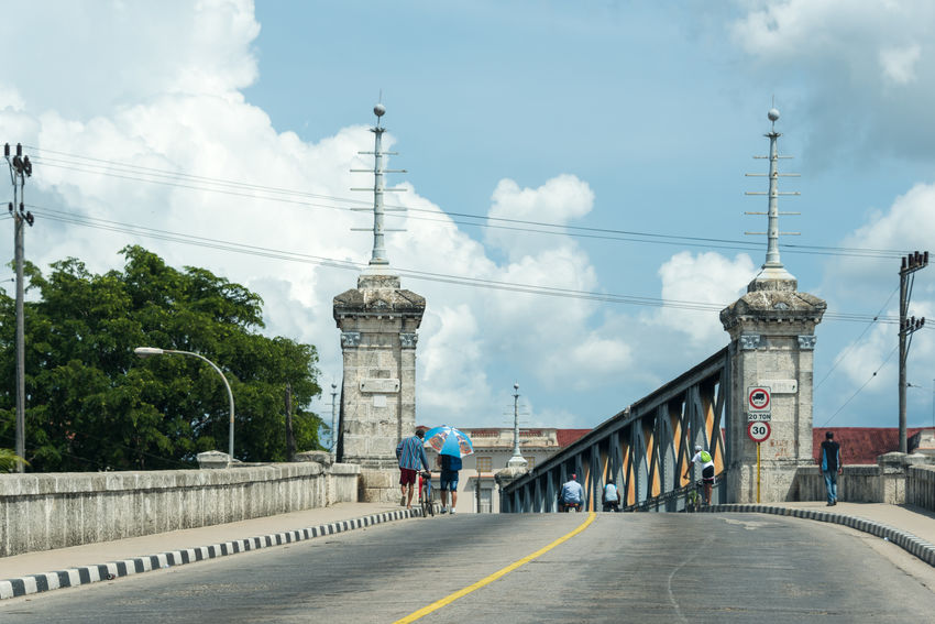 La Concordia bridge in Matanzas is a historic landmark and a tourist attraction visited by many everyday Architecture Bridge Built Structure Caribbean City Communism Concordia Cuba Cuban Every Day Everyday Images Lifestyle Lifestyles Matanza Matanzas Revolution S Scenes Street Way Of Life