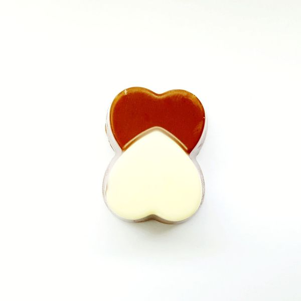 black and white chocolate hearts Chocolate Woman Black And White Black Chocolate White Chocolate Temptation White Background Sweet Chocolate White Background Candy Love Valentine's Day - Holiday Heart Shape Close-up Candy Store Candy Heart I Love You Dark Chocolate Chocolate Bar Chocolate Cake