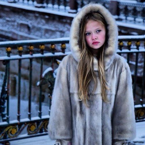 Portrait Children snow Cheese! Russiangirl Sony Hi!