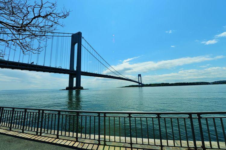 Atlantic Ocean Bridgeinbluesk Brooklyn Nyc ForthamiltonNY Newyorkharbor NYbridges SpringtimeNY Verrazano Bridge