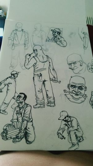 Mechanic Drawing Myhobby Time4action Happy :)