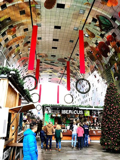 #rotterdam #market #fresh #market #Rotterdam Store Built Structure Real People City Architecture Indoors