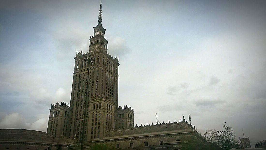 Palace Of Culture And Science In Warsaw Old Glory Warsawthecapitolofpoland Warsaw Warsaw City