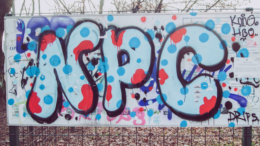 SONY DSC Graffiti Wall - Building Feature Creativity Art And Craft Multi Colored No People Architecture Built Structure Street Art Wall Day Text Pattern Communication Outdoors Building Exterior Representation Paint Design Messy Mural Sarajevo Bosnia And Herzegovina Bosnia Streetphotography Street Street Photography Autumn Autumn colors Autumn Leaves autumn mood Autumn Collection