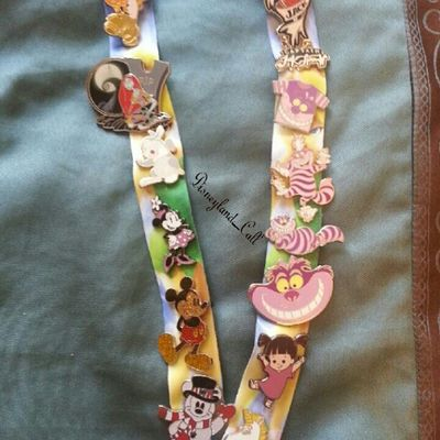 Disneyland pins :).I have a lot of Cheshire cats lol :) Disneylandpins Disneyland_cali Disneyland Pins