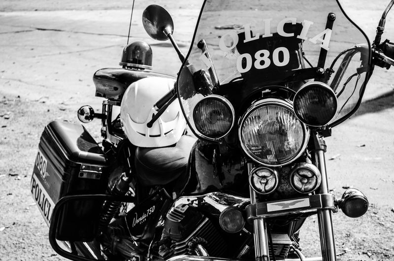 Outdoors Day Close-up No People Police Police Officers Motorcycles Motorcycle Photography Motor Vehicle Motorcycle Moto