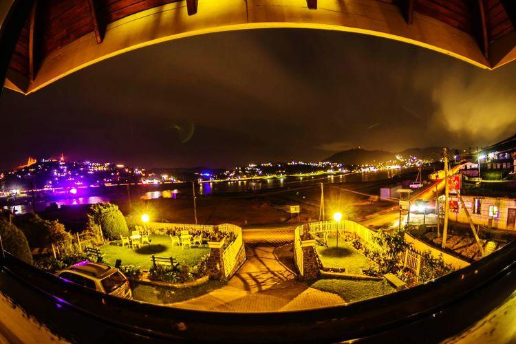 Cityscape Nightlife Gregory Lake Nuwaraeliya SriLanka