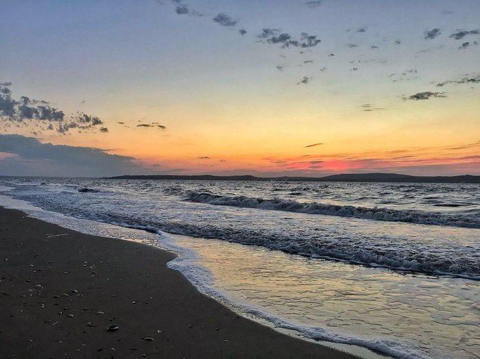 Sea Sunset Sky