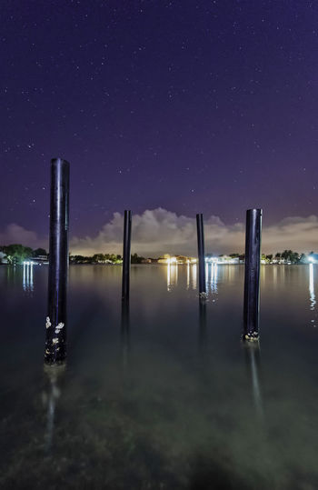Astro Cloud EyeEm Best Shots Light Nightphotography WeekOnEyeEm Astronomy Astrophotography Illuminated Nature Night No People Outdoors Purple Reflection Sky Star - Space Tranquil Scene Tranquility Water Waterfront HUAWEI Photo Award: After Dark