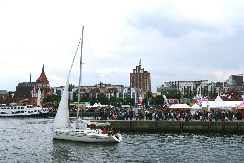 Hansesail in Warnemuende and Rostock 2016. Sailing boats from all over world meeting here for that yearly event. Boat City City Life Day HanseSail Hansesail 2016 Harbor Harbor View Nautical Vessel Outdoors Rostock Rostock 2016 Rostocker Hafen Rostocker Stadthafen Sailing Sailing Boat Sailing Boats Sailing Ship Sky Tourism Town Water Waterfront