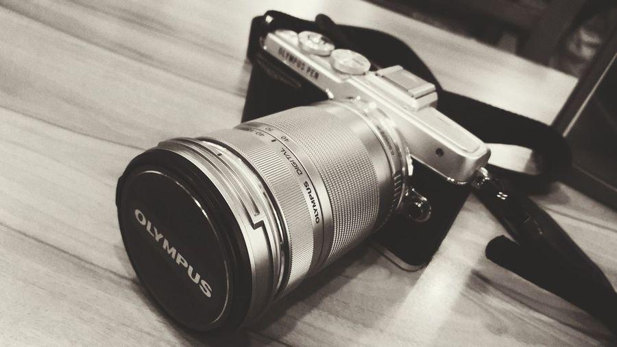 Camera Black And White Olympus Olympus Pen Lite E-PL7 Lieblingsteil