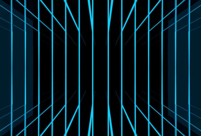 blue light beam line background Edge Futuristic Graphic LINE Light Shape Abstract Art Backgrounds Beam Black Blue Design Full Frame Illusion Laser Modern Pattern Patterns Repeating Technology Texture