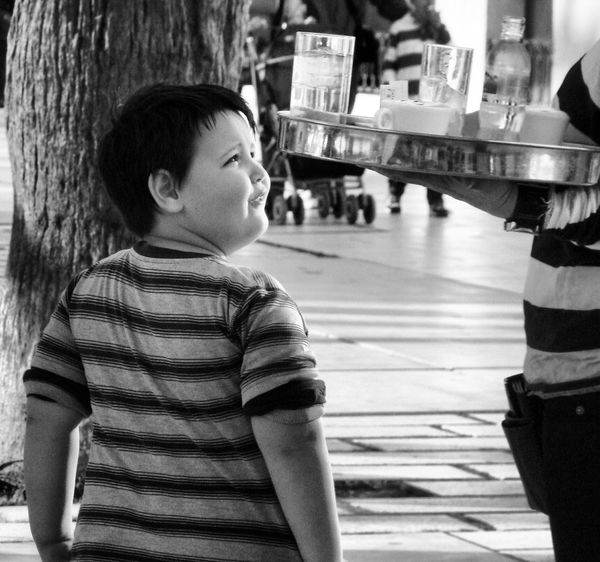 Street Photography Black And White Black And White Photography Outdoors Child Children Children's Portraits Life Capture The Moment Split Split Croatia Croatia