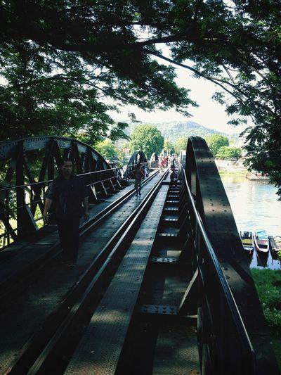 Don't Jump Hello World Enjoying Life Bridge