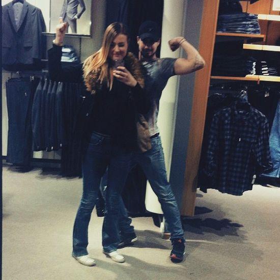 Sister That's Me Power Muscles Gant Shopping