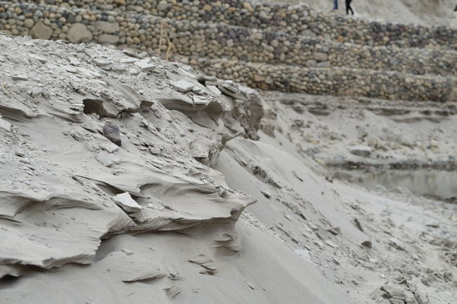 Bizzare shapes in Nature on the riverbank of Indus, on way to Nubra Valley Indus River Leh Ladakh.. Nature Riverside Shapes Shapes In Nature  Landscapes With WhiteWall Art Is Everywhere