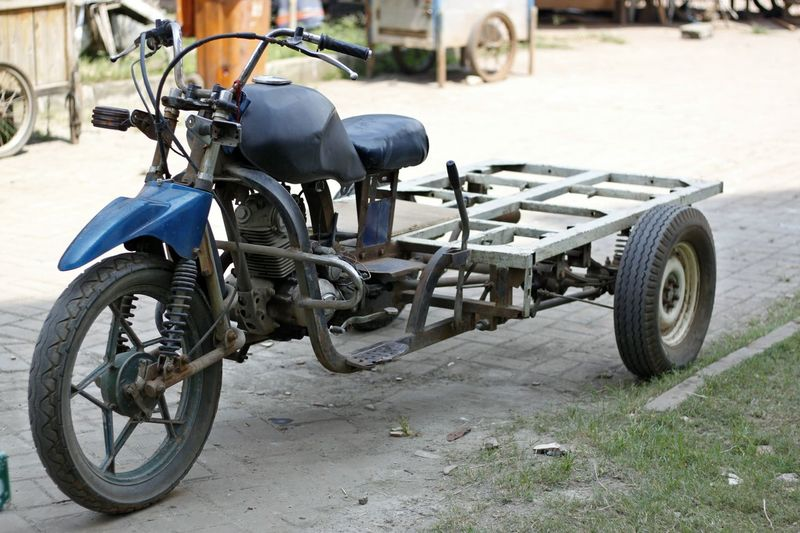 Custom Motorbike Custom Motorcycle Day Land Vehicle Mode Of Transport Motorcycle No People Outdoors Parking Stationary Tire Transportation