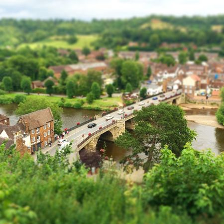 Fine Art Photography Bridgnorth Tiltshift Lost In The Landscape Colour Your Horizn Stories From The City