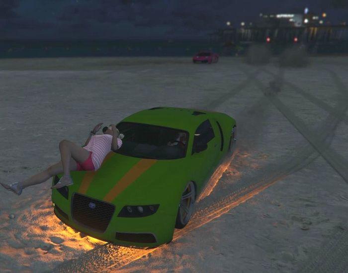 GTA Gta5 GTA V Car Autsch Drive Lossantos Play A Game