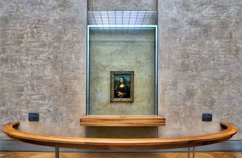 No People Mona Lisa Museum Louvre Davinci Architecture Indoors  Art Arts Culture And Entertainment Art Is Everywhere EyeEm Best Shots EyeEm Gallery Museo Mona Lisa Smile France Italy Museums Day Reinassance Museum Of Art Da Vinci Exhibit Monalisa_gallary Art, Drawing, Creativity Artist Francia