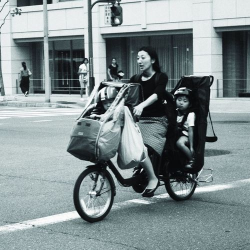 People Carrier ... Transportation Bicycle Urban Landscape Blackandwhite EyeEm Best Shots EyeEm Selects Kyoto Bnw_friday_eyeemchallenge Bnw_collection Bnw_captures