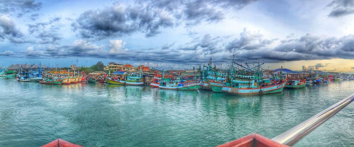 River Boat Cloud Sky Cloud - Sky