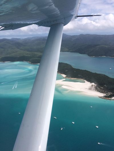 Australia From Above The Clouds Nature Photography Ocean View Australien Beach Beauty In Nature Day Great Barrier Reef Nature No People Ocean Outdoors Queensland Australia Reef Sea Water Whitehaven Beach Whitsunday Islands