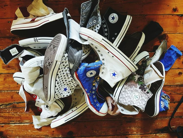 Converse All Star All Stars ⭐⭐⭐ Wasted And Ready Chuck Taylor 10 pairs!