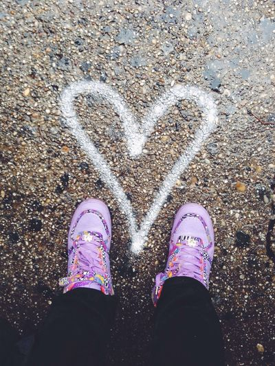 Sneakerhead  Love Heart Shoes