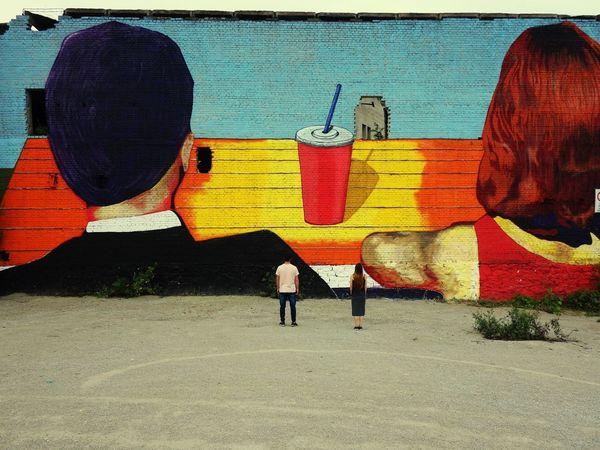 Street Art Multi Colored