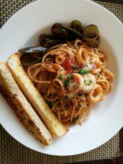 Pasta marinara of pastagram