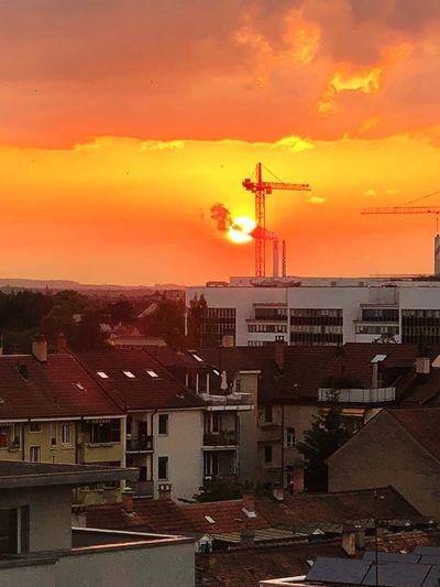 Sunset Sky City