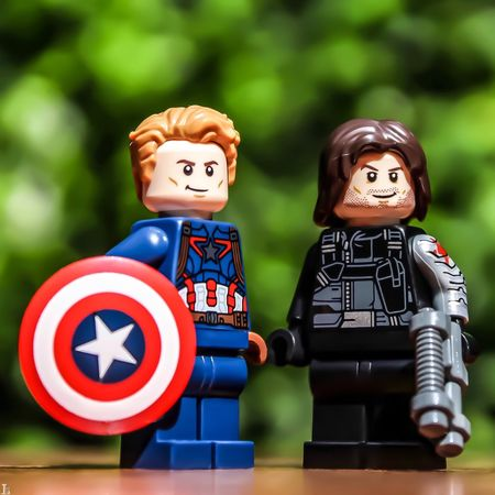 LEGO Legophotography Toyslagram Toyslagram_lego Legographer Toyphotography Toyphotogallery Bricknetwork Brickcentral Civil War WinterSoldier Captainamerica First Eyeem Photo