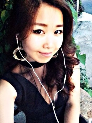 Night out Enjoying Life That's Me Self Portrait Asian Girl