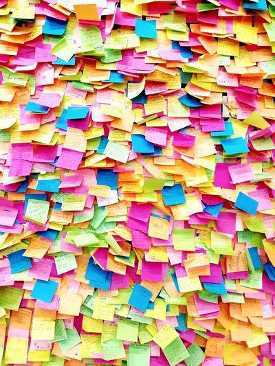 resumenes Resumenes Multi Colored Backgrounds Full Frame Stack Paper Variation Arrangement Close-up