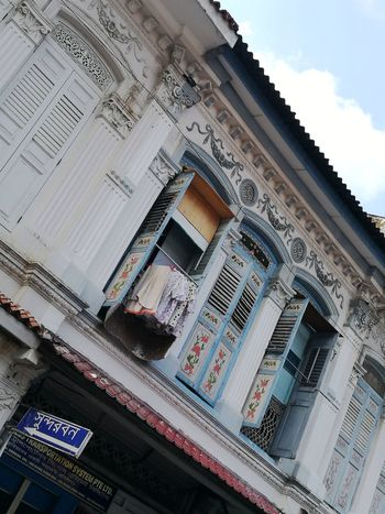 Shophouse Low Angle View Travel Destinations Built Structure Architecture Building Exterior Photograph Like Painting City Scape Street Photography EyeEm Gallery Asian Cities Art Is Everywhere ASIA Wandering Around Aimlessly HuaweiP9 Asian Culture Peranakan Decor Eyeem Singapore Leica Lens Wanderlust Singapore Singapore Architecture Singapore Streets Street