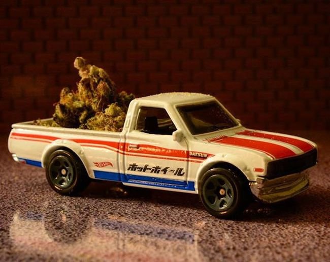 Late night delivery..Toyonlocation Toy_nerds Kush HotWheels Tinytruck Teamnikon Datsun Import Toycrewbuddies Toyphotography Toystagram Toyaddict Teamnikon Toyjuice Minitruck