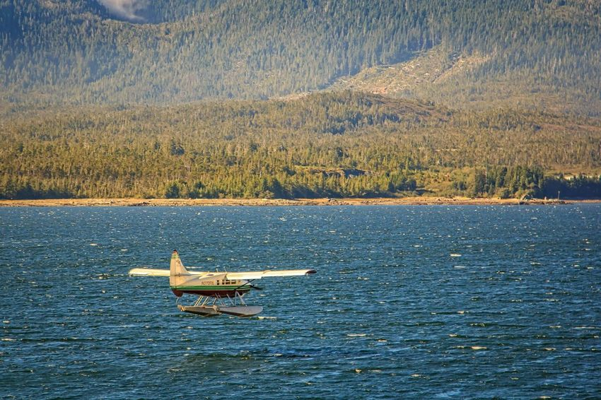 Water Landing Ketchikan Alaska Travel Aviation
