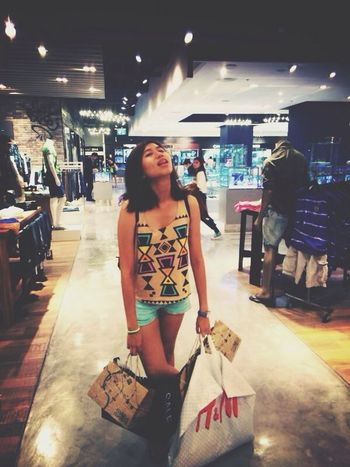 How tired Shopping Bangkok