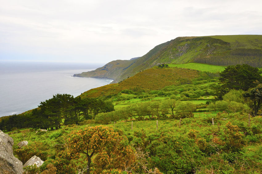 coast of death in galicia spain SPAIN Coast Of Death Galicia Spain Beauty In Nature Coast Of Death In Galicia Spain Day Grass Green Color Horizon Over Water Landscape Mountain Nature No People Outdoors Plant Scenics Sea Sky Tranquil Scene Tranquility Water