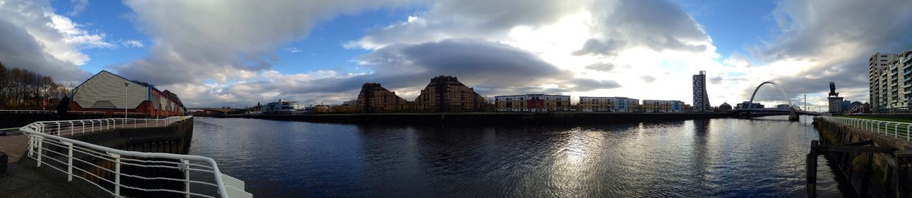 GLASGOW CITY Panaromic Riverside Cityscapes