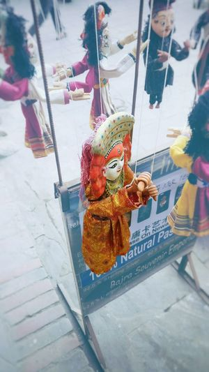 Puppet Art Livinggoddessofnepal Kumari Art And Craft Visitnepal
