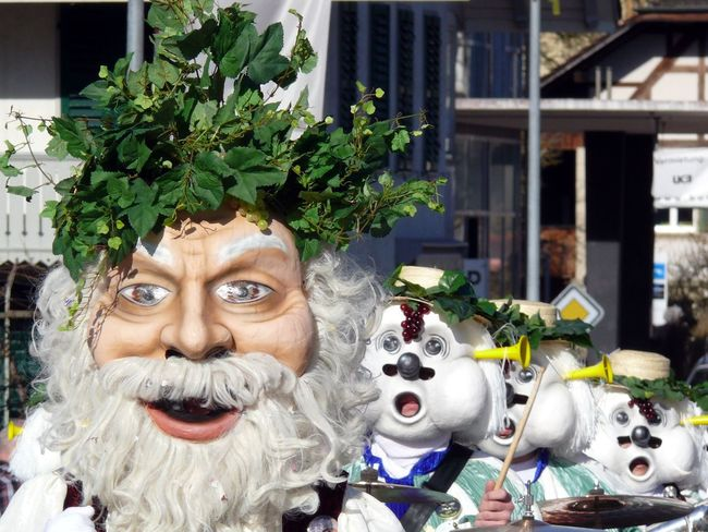 Carneval Fassnacht Larve Mask No People Outdoors