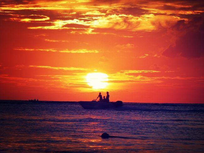 Mauritius island Sunset Clouds And Sky Mauritius Island 2012