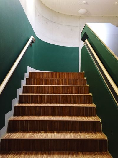 Staircase Steps And Staircases Indoors  Architecture No People Railing Built Structure Low Angle View Education Music Spiral Arts Culture And Entertainment The Way Forward Musical Instrument Cardboard Building Home Improvement Learning Pattern Brown