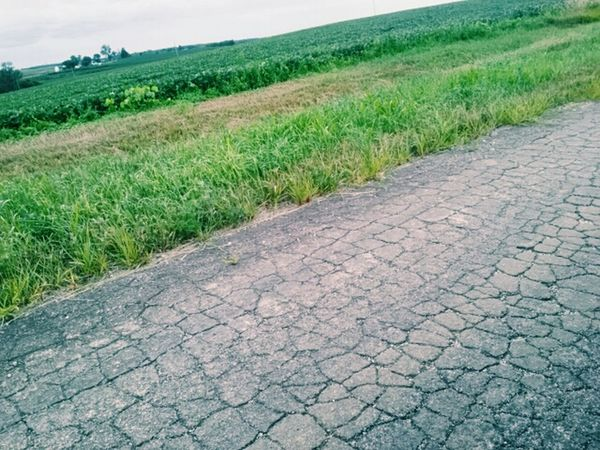 TheWeekOnEyeEM Contrast/exposure EyeEm Gallery EyeEm Best Shots Countryside Cracked Old Road Fieldscape