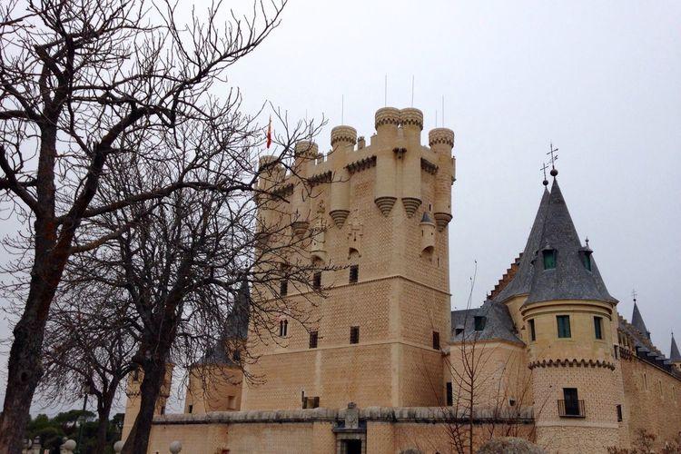 Segovia SPAIN Architecture Building Exterior Alcazar